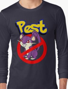 Rattata pest Long Sleeve T-Shirt