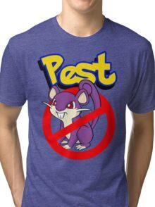 Rattata pest Tri-blend T-Shirt