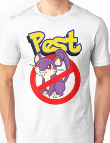 Rattata pest Unisex T-Shirt