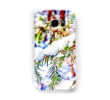 Colours in the Snow Samsung Galaxy Case/Skin