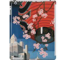 Vintage Travel Poster Tokyo Japan iPad Case/Skin