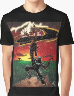 Black Panther & Storm Graphic T-Shirt
