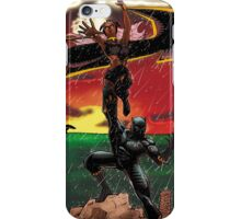 Black Panther & Storm iPhone Case/Skin