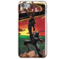 Black Panther & Storm iPhone Case/Skin