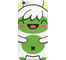 Cute Green Yeti iPhone Case/Skin