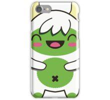 Cute Green Yeti iPhone Case/Skin