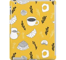 Yellow breakfast iPad Case/Skin