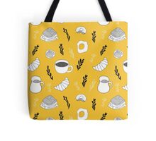 Yellow breakfast Tote Bag