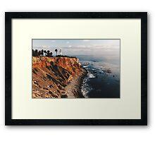 Point Vincent Lighthouse - California - Color Framed Print