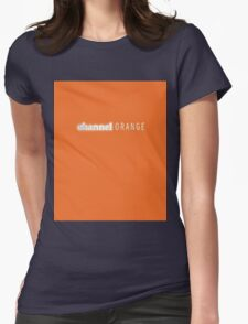 Frank Ocean Channel Orange  Womens Fitted T-Shirt