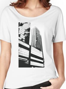 New York Skyscrapers Women's Relaxed Fit T-Shirt