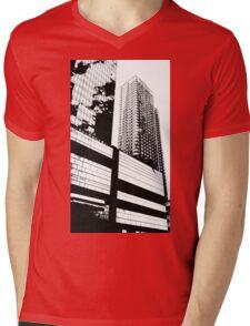 New York Skyscrapers Mens V-Neck T-Shirt