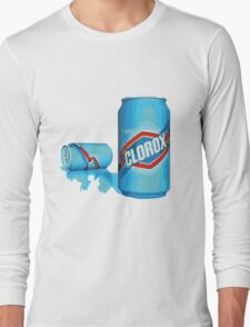 enjoy clorox can Long Sleeve T-Shirt