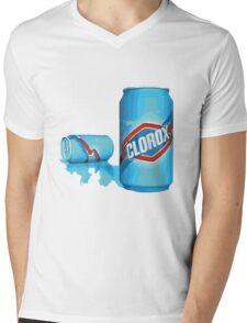 enjoy clorox can Mens V-Neck T-Shirt
