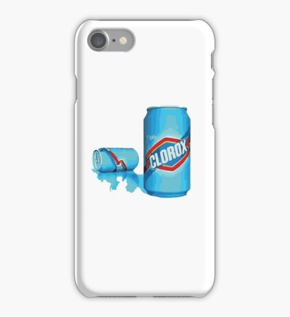 enjoy clorox can iPhone Case/Skin