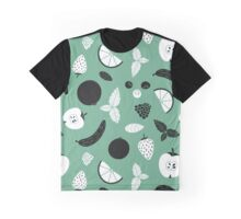 Fruits green pattern Graphic T-Shirt