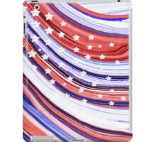 Modern American Flag - Red White And Blue - Sharon Cummings iPad Case/Skin