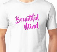 Beautiful Mind Magenta Unisex T-Shirt