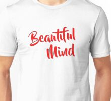 Beautiful Mind Red Unisex T-Shirt