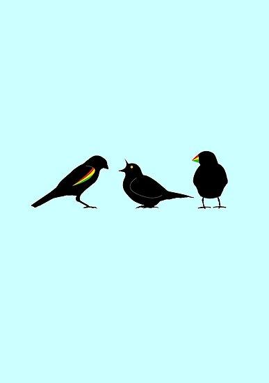 3 little birds by erndub