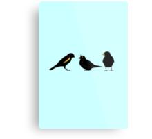 3 little birds Metal Print
