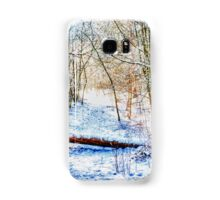 Forest in the Snow HDR Samsung Galaxy Case/Skin