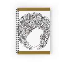 Spring is in the hAir Spiral Notebook