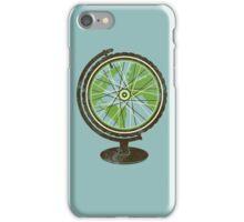 Global Cyclist (green) iPhone Case/Skin