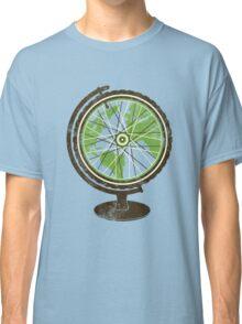 Global Cyclist (green) Classic T-Shirt