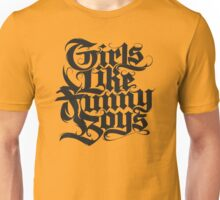 Girls Like Funny Boys Unisex T-Shirt