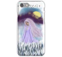 Tarot Card The Moon Goddess iPhone Case/Skin