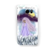 Tarot Card The Moon Goddess Samsung Galaxy Case/Skin