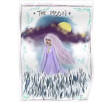 Tarot Card The Moon Goddess Poster