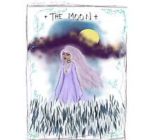 Tarot Card The Moon Goddess Photographic Print