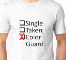 Color Guard Obsession Unisex T-Shirt