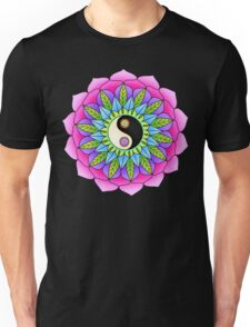 Mandala Yin-Yang Unisex T-Shirt