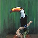 Toucan Painting by careball