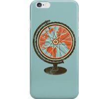 Global Cyclist (orange) iPhone Case/Skin