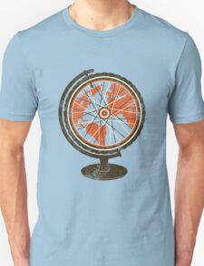 Global Cyclist (orange) T-Shirt