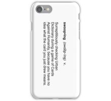 Swooping iPhone Case/Skin