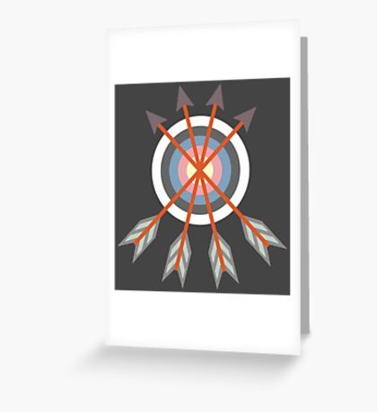 Archery Target Greeting Card
