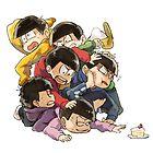 Osomatsu - Fight by banafria