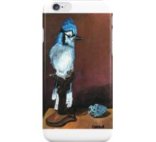 Blue jay Painting iPhone Case/Skin