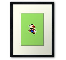 Super - JUMP! Framed Print