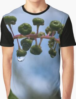 Poke Weed Blossoms Graphic T-Shirt