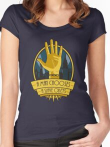 The Cult Of Rapture Women's Fitted Scoop T-Shirt