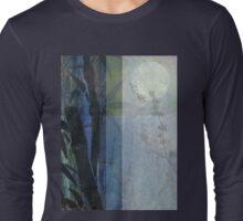 Bamboo Blossoms Blue 2 Long Sleeve T-Shirt