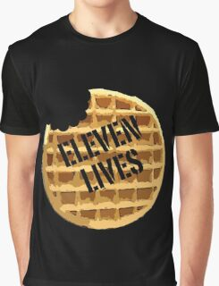 Eleven Lives - Stranger Things Fan Art Graphic T-Shirt