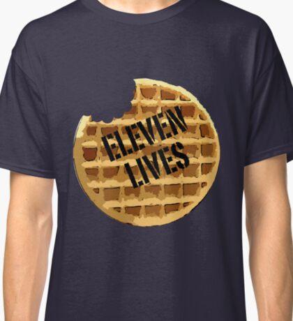 Eleven Lives - Stranger Things Fan Art Classic T-Shirt