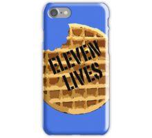 Eleven Lives - Stranger Things Fan Art iPhone Case/Skin
